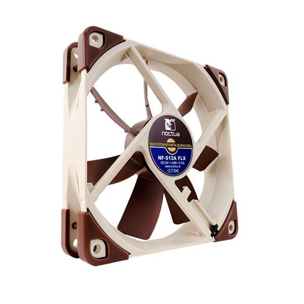 Noctua 120mm Nf-s12a Flx 1200rpm Fan (NF-S12A-FLX)