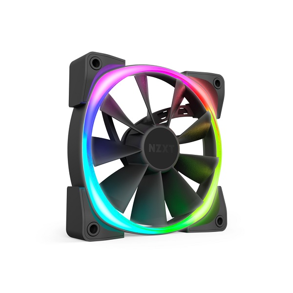 Nzxt 140mm Aer Rgb 2 Pwm 1500rpm Fan (NZT-HF-28140-B1)