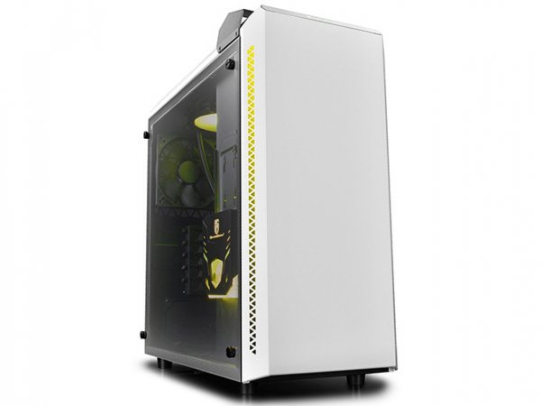 Deepcool Baronkase Case Liquid Cooling System White Colour Intel  (BARONKASE LIQUID WHITE)