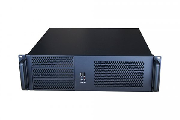 Tgc Rack Mountable Server Chassis 3u 390mm Depth 3x Ext 5.25