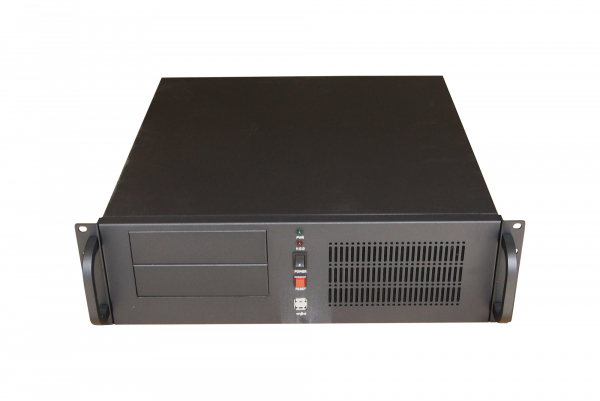 Tgc Rack Mountable Server Chassis 3u 450mm Depth 2x Ext 5.25