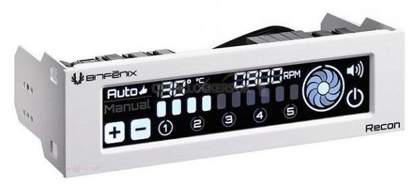 Bitfenix Bitfenix Recon Fan Controller White Touch& Mobile Control (ls) (BFA-RCN-WS-RP)