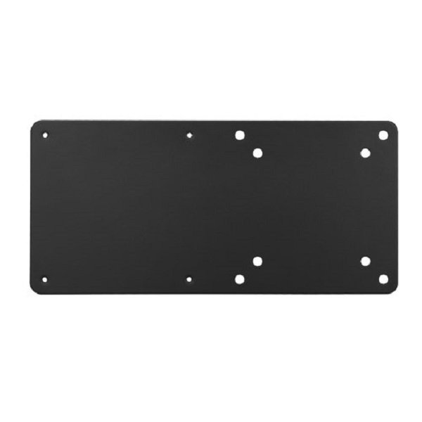 Brateck Vesa Compatible Nuc Mounting Bracket Up To 3kg Black Colour Steel (CPB-7)