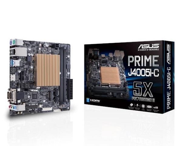 Asus Oem Low-power Fan-less Motherboard For Intel Celeron Soc J4005 2  (PRIME J4005I-C)