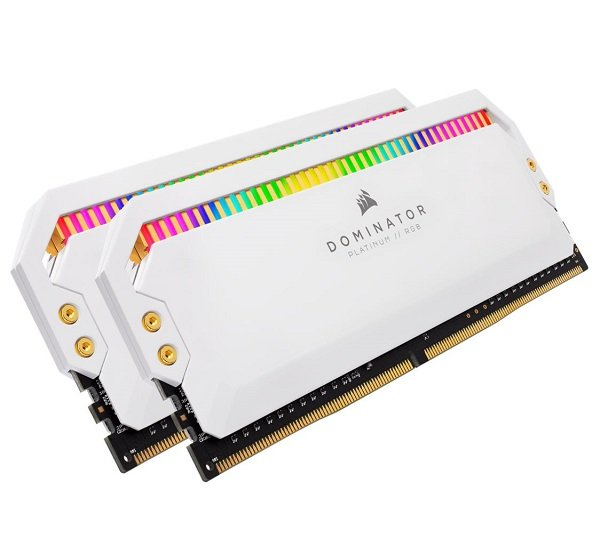 Corsair Dominator Platinum Rgb 32gb (2x16gb) Ddr4 3200mhz C16 1.35v Udimm (CMT32GX4M2C3200C16W)