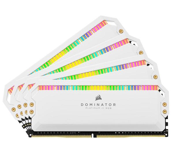 Corsair Dominator Platinum Rgb 32gb (4x8gb) Ddr4 3200mhz C16 1.35v Udimm  (CMT32GX4M4C3200C16W)