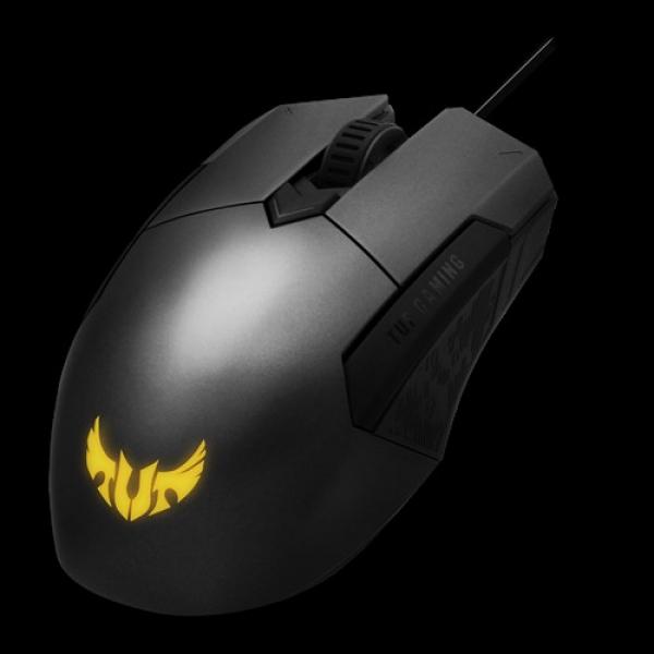 Asus P304 Tuf Gaming M5 Wired Ambidextrous Ergonomic Rgb Gaming Mouse  (TUF GAMING M5-P)
