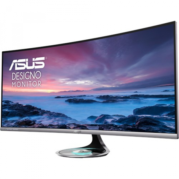 Asus 37.5 Ultra-wide Curved Monitor Uwqhd 2300r Curvature Frameless Q (MX38VC)