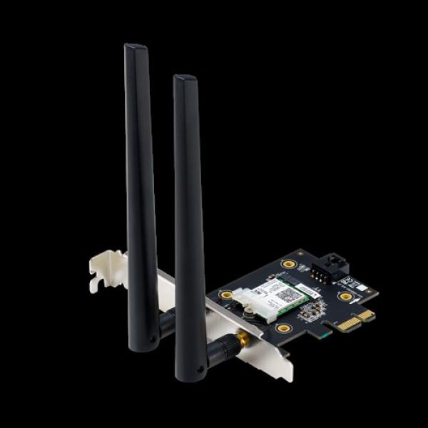 Asus Pce-ax3000bulk Ax3000 Dual Band Pci-e Wifi 6 (802.11ax) Adapter 1 (PCE-AX3000 bulk)