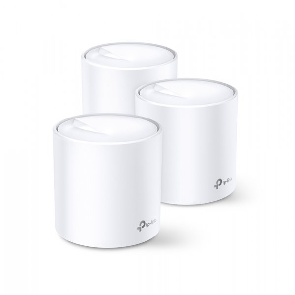 Tp-link Deco X60 (3-pack) Ax3000 Whole Home Mesh Wi-fi System (wi (Deco X60(3-pack))