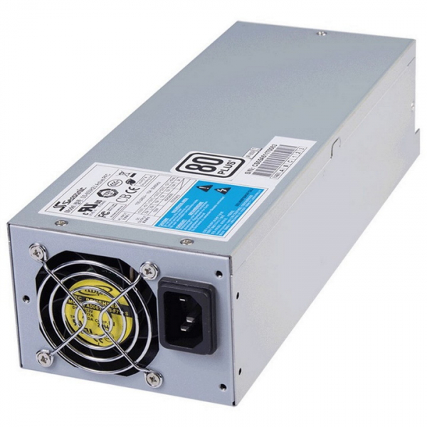Seasonic 600w 2u Modular Power Supply 80 Plus Certified Over-voltage Over- (SS-600H2U)