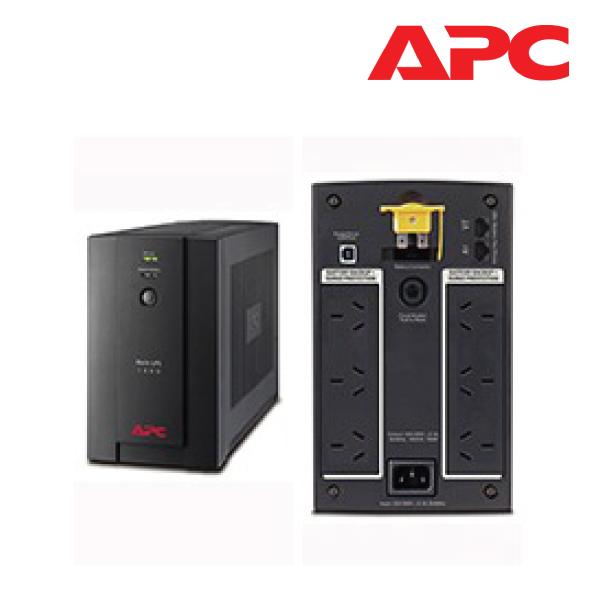 Apc Ups 1400va/230v Usb Australian Sockets 2 Year Warranty (BX1400U-AZ)