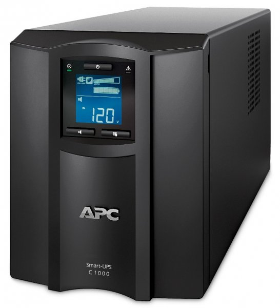 Apc Smart-ups C 1000va Lcd 230v With Smartconnect - Tower (SMC1000IC)