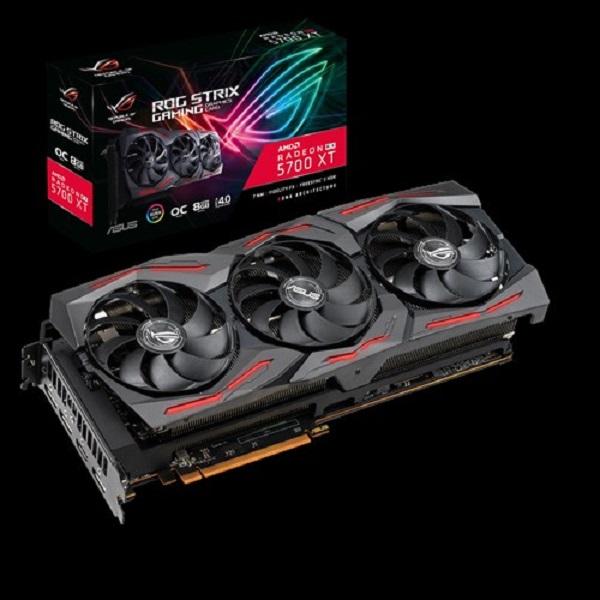 Asus Amd Rog Strix Radeon Rx 5700 Xt Oc Edition 8gb Gddr6 3 Fans 3xdp/ (ROG-STRIX-RX5700XT-O8G-GAMING)