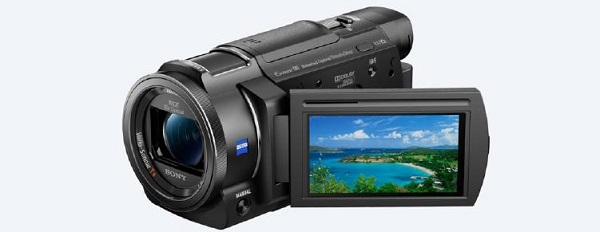 Sony 4k Handcam With Exmor R Cmos Sensor Zeiss Lens (FDR-AX33)