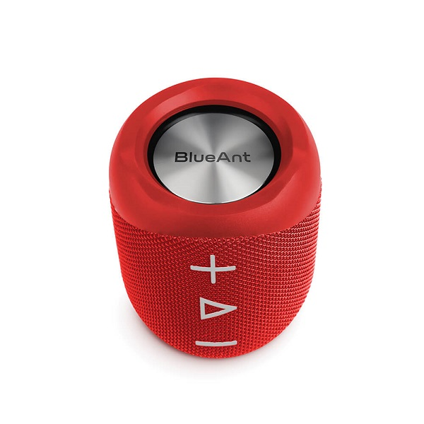Blueant X1 Portable Bluetooth Speaker - Red X1-RD