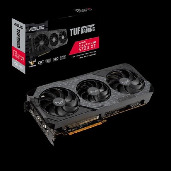 Asus Amd Rx5700 Xt Evo Gddr6 8gb 1870 Mhz Boost6xdisplays 3xdp 1xhdmi TUF 3-RX5700XT-O8G-EVO-GAMING