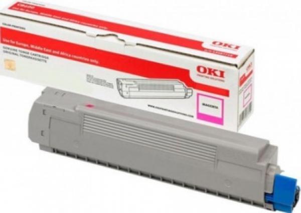 OKI  Magenta Toner For C612 6k ( 46507510
