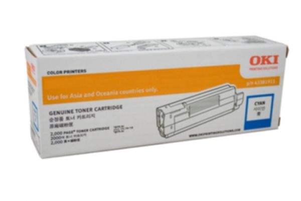 OKI  Cyan Toner For C712n 11.5k ( 46507611