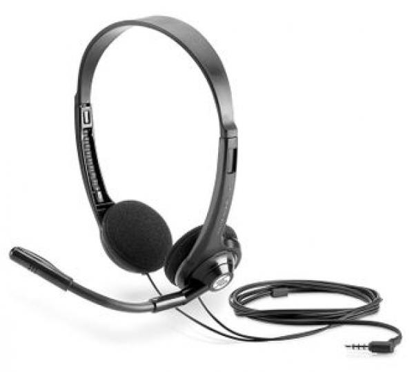 Hp Boom Mic Headset 150 Blk 2EM62AA