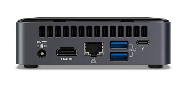 Intel Nuc Ultra Mini Pc Kit I3-10110u Ddr4(0/2) M.2(0/1)wl-ax 3yr Wty BXNUC10I3FNK4