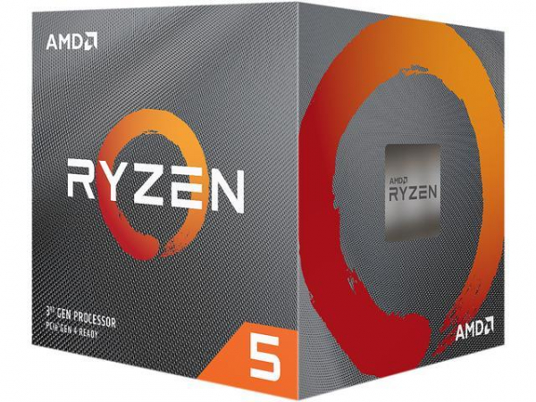 Amd Ryzen 5 3600xt 6-core/12 Threads Unlocked Max Freq 4.5ghz 35mb Ca 100-100000281BOX
