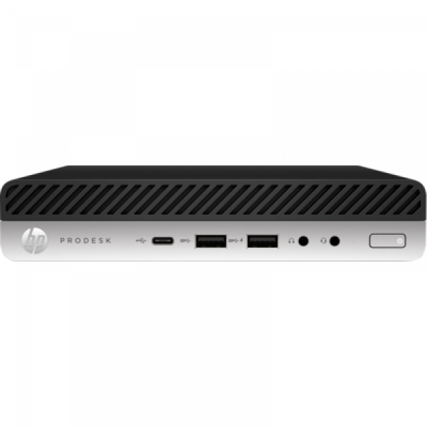 Hp 600 Prodesk G5 Dm I5-9500t 8gb 256gb Ssd Wlan W10p64 3-3-3 8NW87PA