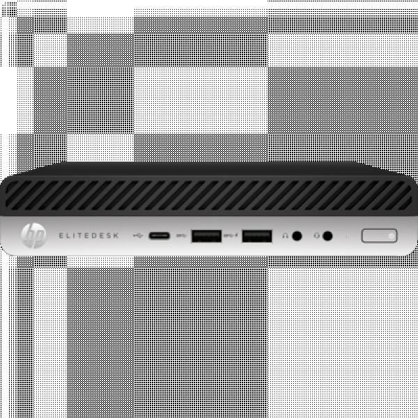 Hp 800 Elitedesk G5 Dm I5-9500t 8gb 256gb Ssd Wlan W10p64 3-3- 8NW85PA