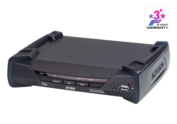 Aten Dvi Dual Link Kvm Over Ip Transmitter With Dual Dc Power Supports KE6910R-AX-U