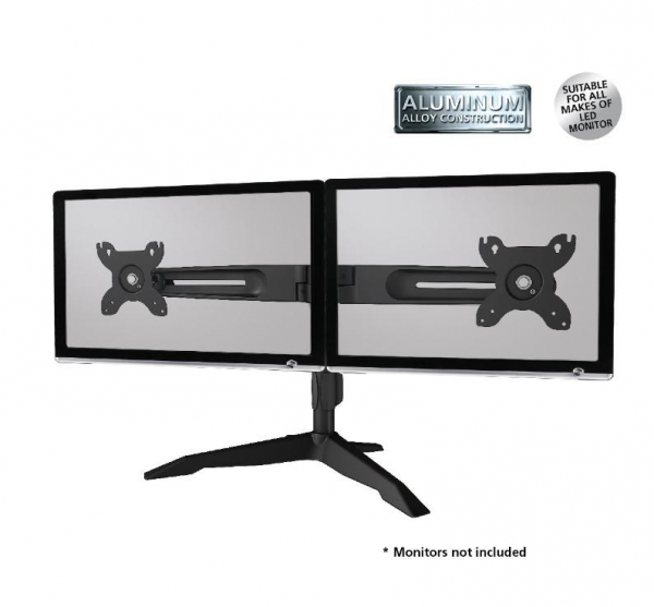 Aavara Av- Dual Monitor Stand (up To 24inch) DS200