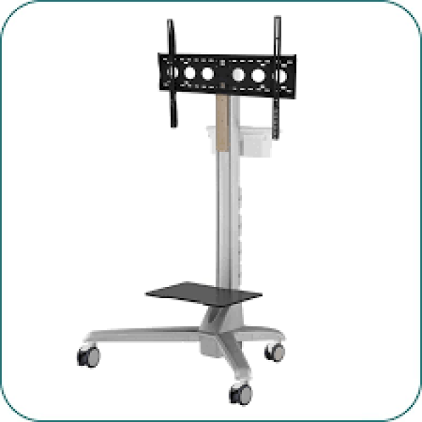 Aavara Large Conference Display Trolley Cart AV-CDT760