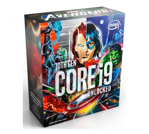 Intel New Core I9-10900k Avengers Cpu 3.7ghz (5.3ghz Turbo) Lga1200 10t BX8070110900KA