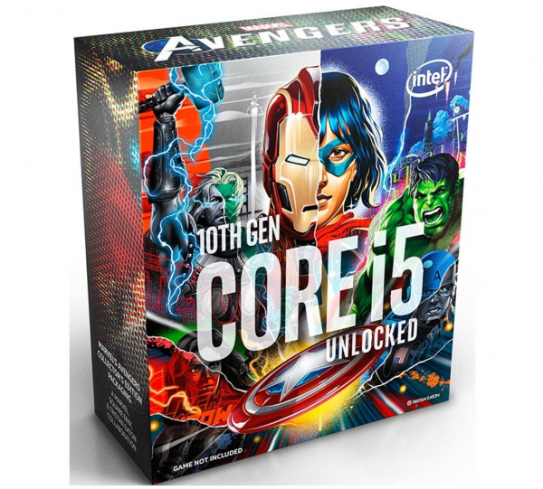 Intel New Core I5-10600k Avengers Cpu 4.1ghz (4.8ghz Turbo) Lga1200 10t BX8070110600KA
