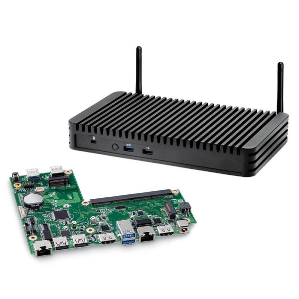 Intel Nuc Rugged Chassis Element Dual Lan M.2(0/2) Gbe Lan(2) Hdmi(2)no BKCMCR1ABB