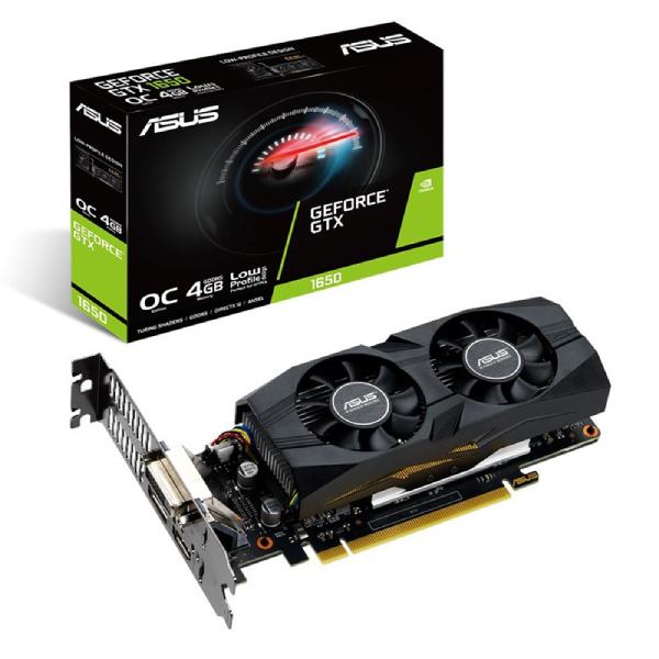 Asus Gtx 1650 Oc Edition 4gb Gddr5 1740 Mhz Boost 7680x4320 3x Disp GTX1650-O4G-LP-BRK