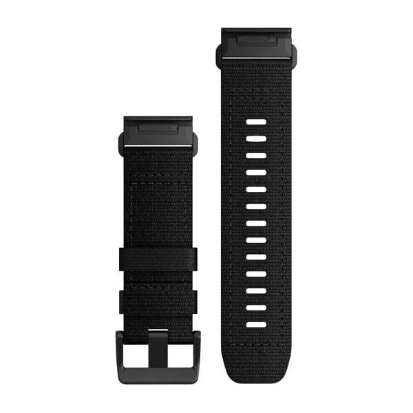 Garmin Quickfit 26 Watch Bands Tactical Black Nylon 010-13010-00