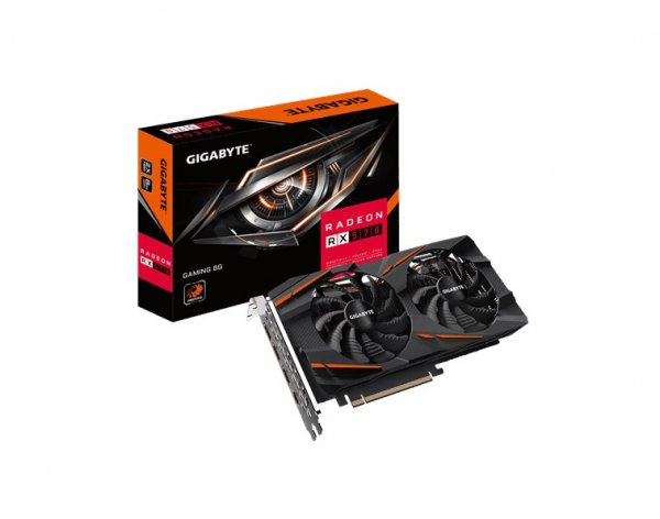 Gigabyte Amd Radeon Rx570 Gaming Version 2 8gb Gddr5 Pcie 8k 7680x4320 5xd GV-RX570GAMING-8GD