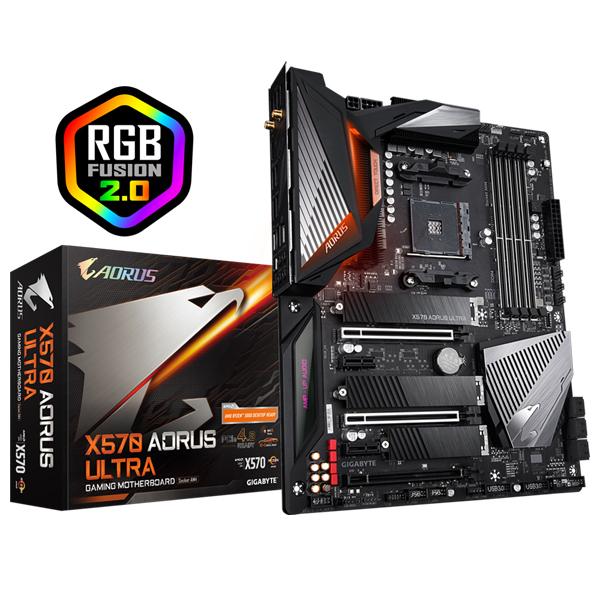 Gigabyte X570 Aorus Ultra Mb Am4 4xddr4 6xsata 3xm.2 Usb-c Atx 3yr GA-X570-AORUS-ULTRA