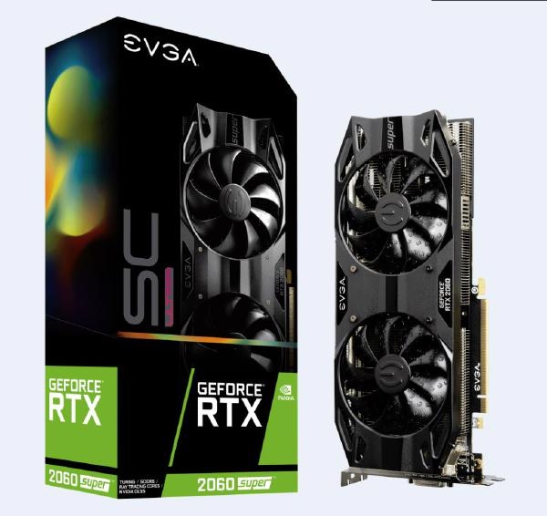 Evga Geforce Rtx 2060 Super Sc Ultra Gaming 8gb Gddr6 Pcie Dual Hdb Fa 08G-P4-3067-KR