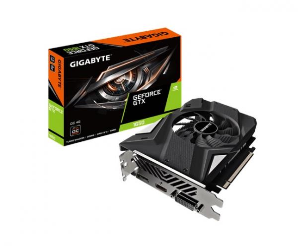 Gigabyte Geforce Gtx 1650 D6 Oc 4g Rev2.0 Gddr6 1635mhz 1xdp/1xhdmi/1xdvi- GV-N1656OC-4GDV2
