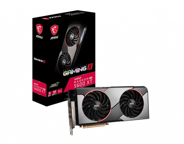 Msi Amd Radeon Rx 5600 Xt Gaming X 6gb Gddr6 Pcie 4.0 Graphics Card 7 RX 5600 XT GAMING X