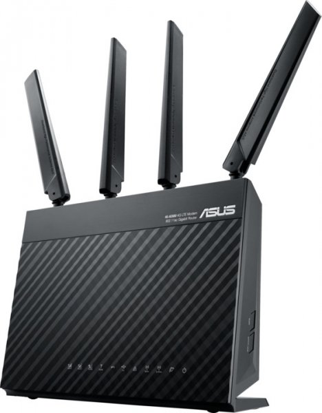 ASUS Ac68u Ac1900 Wireless Lte Modem Router 4G-AC68U