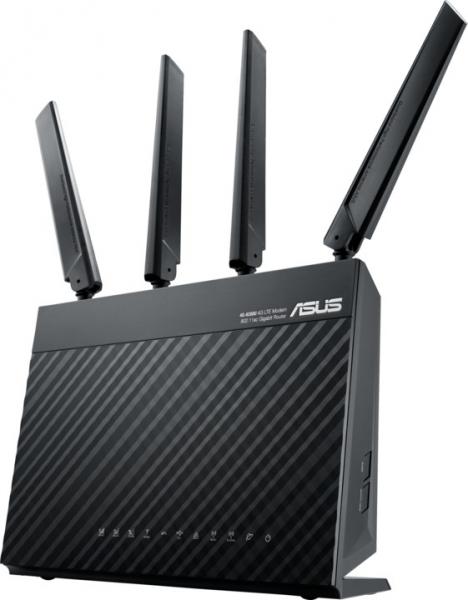 ASUS Ac68u Ac1900 Wireless Lte Modem Router 4G-AC68U