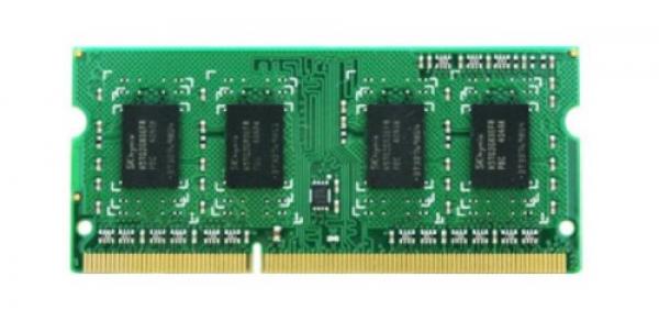 Synology Memory Module 4GB DDR3-1600 Unbuffered So-DIMM NAS Accessories (4GB DDR3 Ram Module)