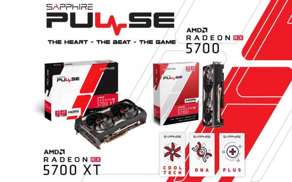 Sapphire Amd Radeon Pulse Rx 5700 Xt Be 8gb Gddr6 Black Edition 1925mhz Bo 11293-09-20G