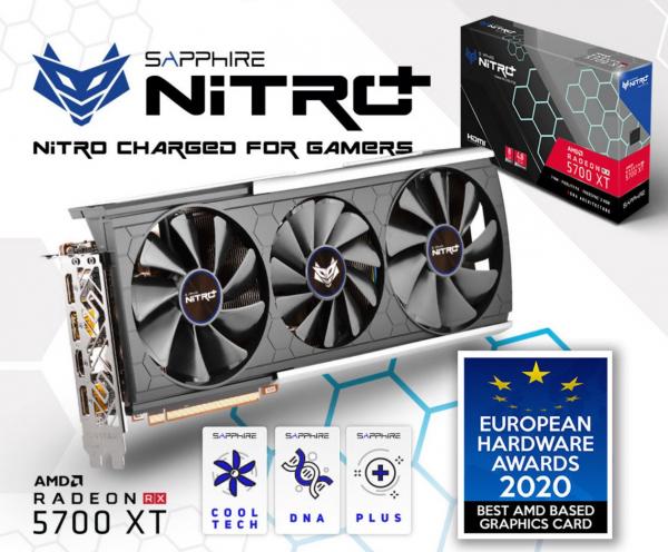 Sapphire Amd Radeon Nitro+ Radeon Rx 5700 Xt Be 8gb Gddr6 Black Edition 19 11293-10-40G