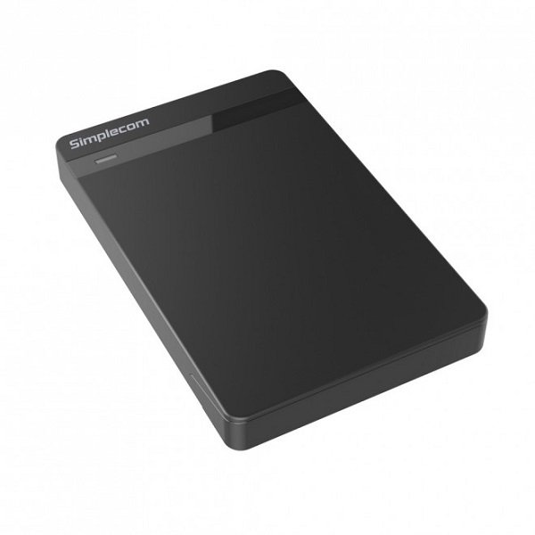 Simplecom Se203 Tool Free 2.5' Sata Hdd Ssd To Usb 3.0 Hard Drive Enclosure SE203-BLACK