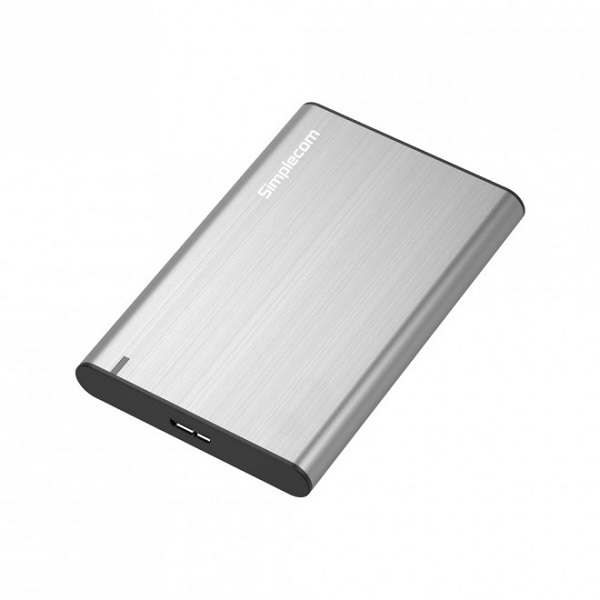 Simplecom Se211 Aluminium Slim 2.5'' Sata To Usb 3.0 Hdd Enclosure Silver SE211-SILVER