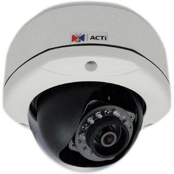 Acti E72a 3mp Outdoor Dome Ip66 1080p/30fps Sdhc D/n Ik10 Opened Box U E72A-R
