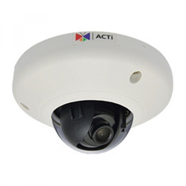 Acti 5mp Indoor Mini Dome 1080p / 30fps Microsd Wdr Poe F2.93mm / F2.0 E93